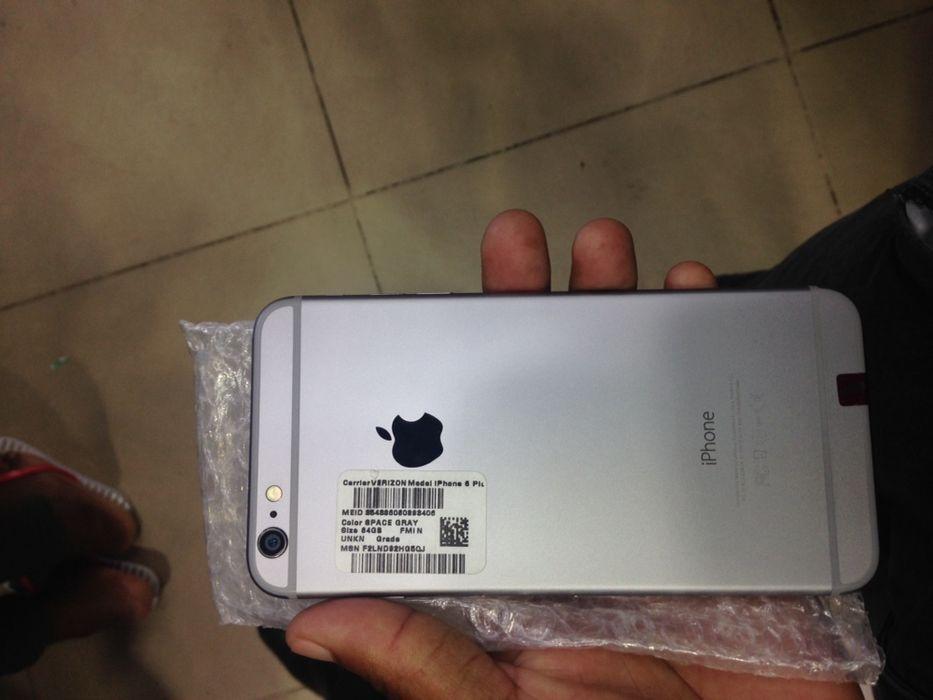 iPhone 6 Plus 64g fora da caixa
