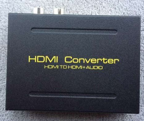 HDMI audio extractor сплитер SPDIF + стерео аудио