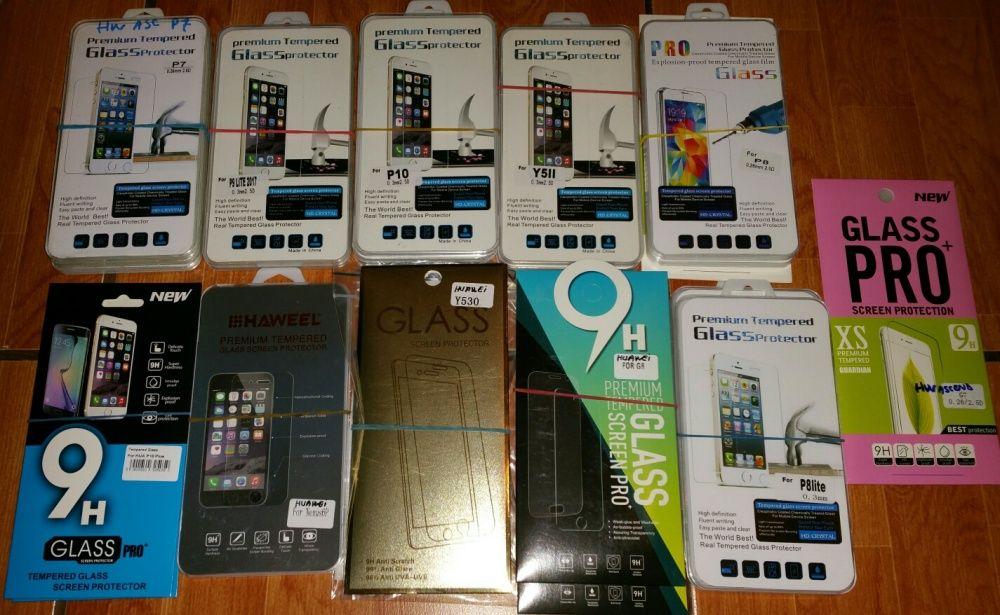 Folie sticla Huawei Y530,Y635,Ascend P7,G8,P8,P8/P9/Mate10 Lite,P9,P10
