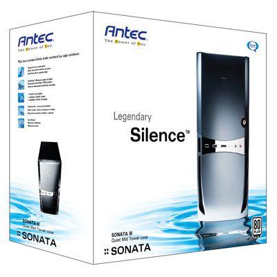 Gabinete Semitorre MICRO ATX SONATA III Preta