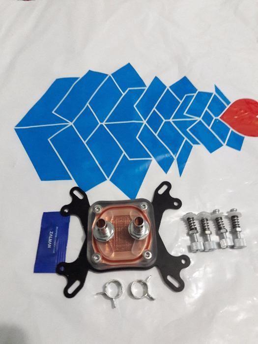 CPU Water Cooling Block Copper