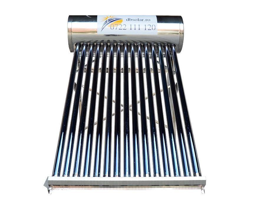 PANOU solar apa calda INOX 150L 180L REZERVOR nepresurizat Controler‼️ Targoviste - imagine 2