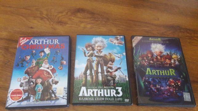 Arthur Luc Besson, 3 DVD uri NOI colectie, dublate romana