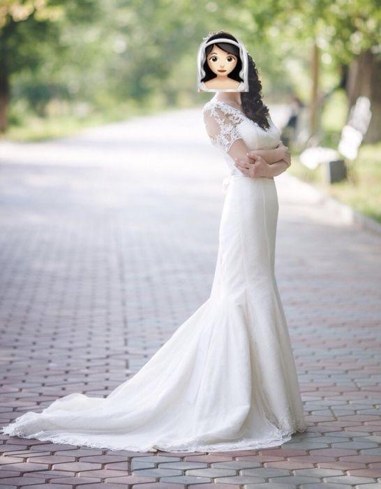 Свадебное платье/ Платье на Кыз узату