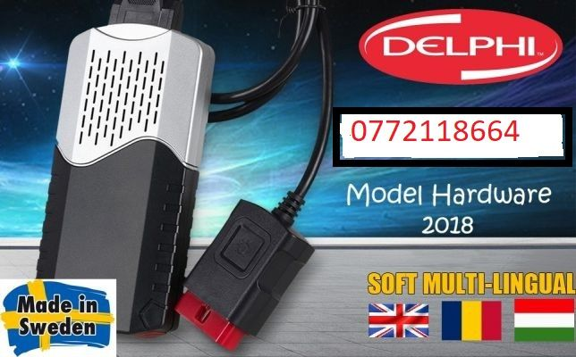 Tester Diagnoză Auto Delphi DS150e multimarcă