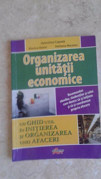 Organizarea unitatii economice