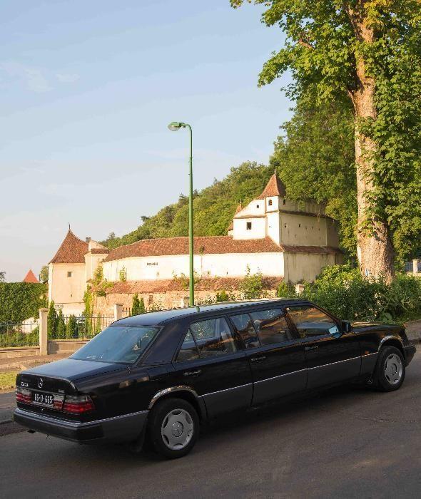 Inchiriere limuzina clasica Mercedes Pullman E Klasse,6 usi,8 locuri