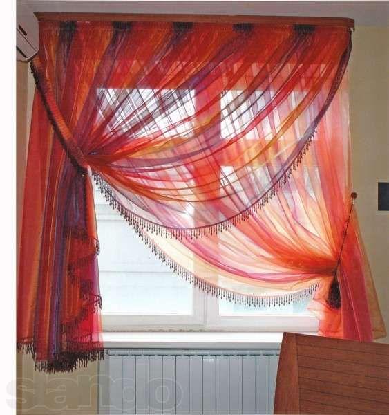 """Пошив штор из ткани """"Капрон"""". Выезд с образцами ткани."""