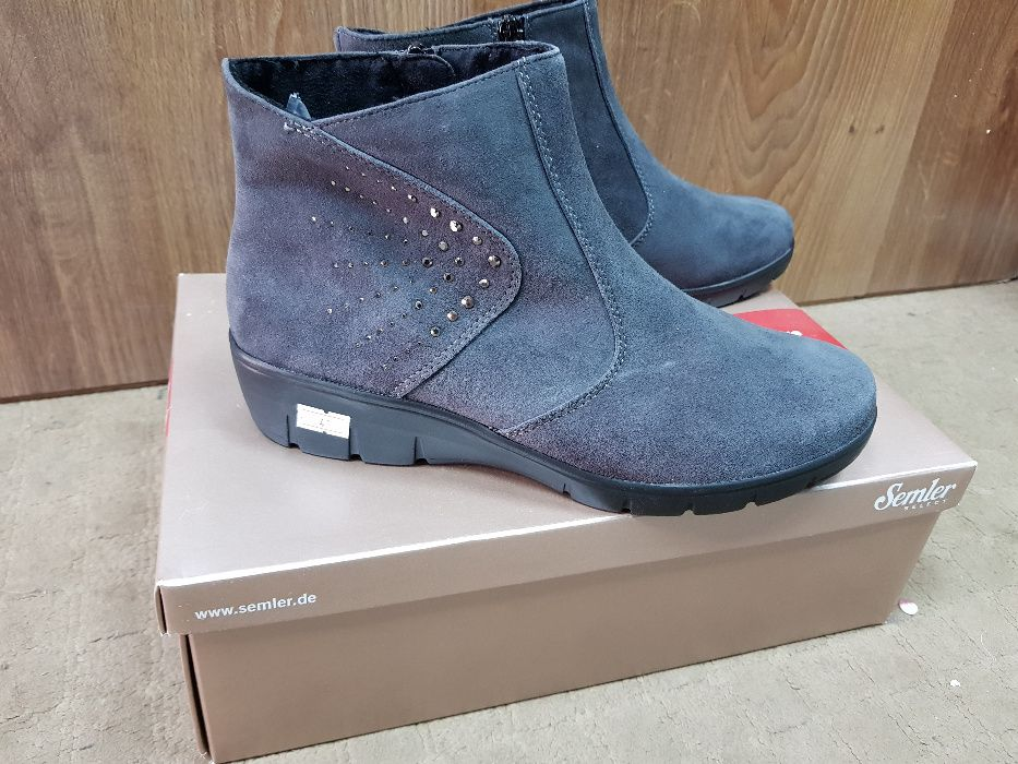 Обувь женская, ботиночки, размер 7.5 (41)