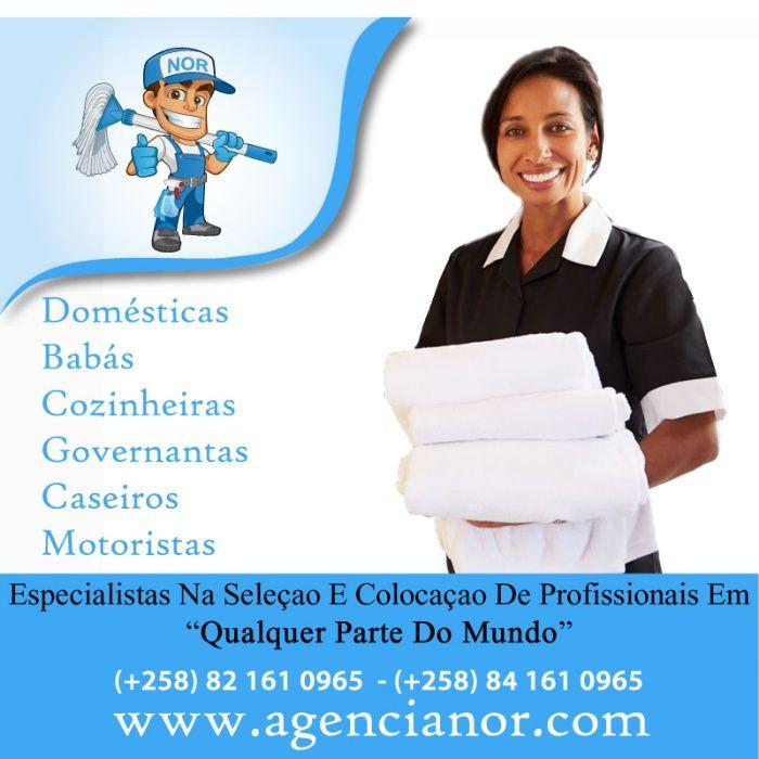 Empregadas Domesticas residentes & Babas Residentes