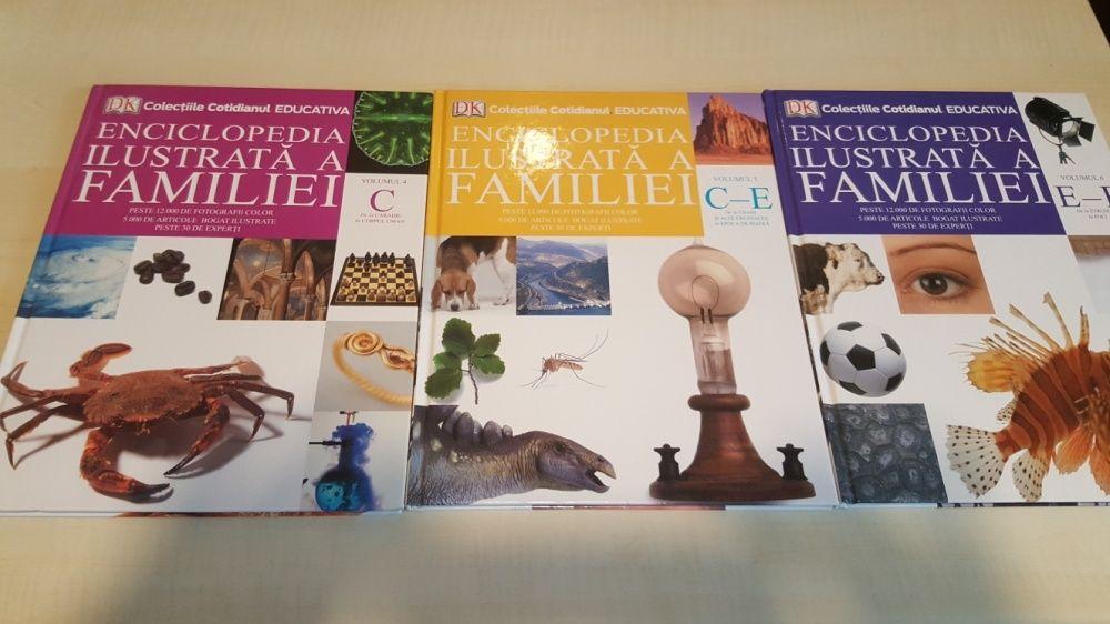 Enciclopedia ilustrata a familei vol. 4, 5 și 6