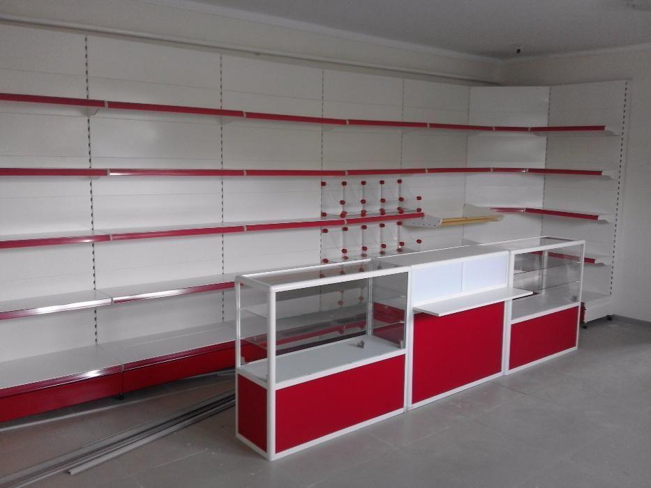 Торговый стеллаж для магазина, склада