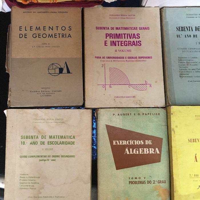 Livros de matemática álgebra (excelente preço) aproveite