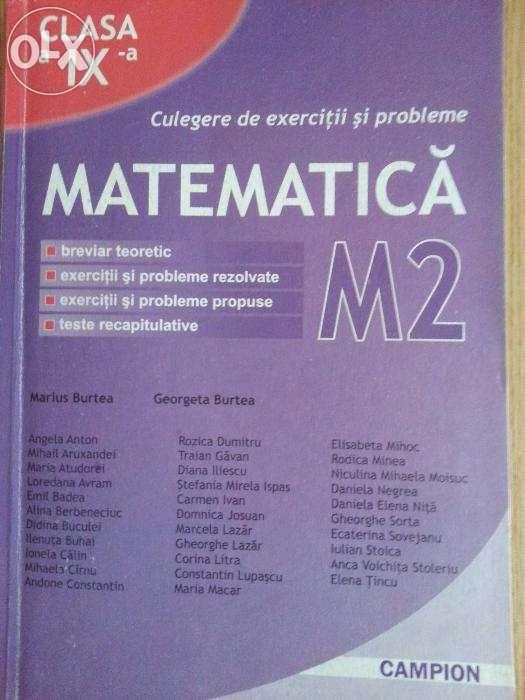 Culegere Matematica M2 clasa a IX a