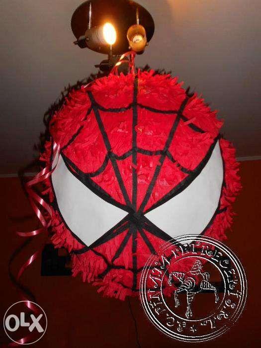 pinata spiderman piniata spiderman
