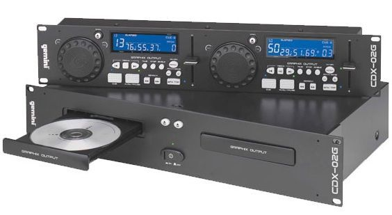 Cd player dj Gemini cdx 02G si player dj gemini CDJ-600