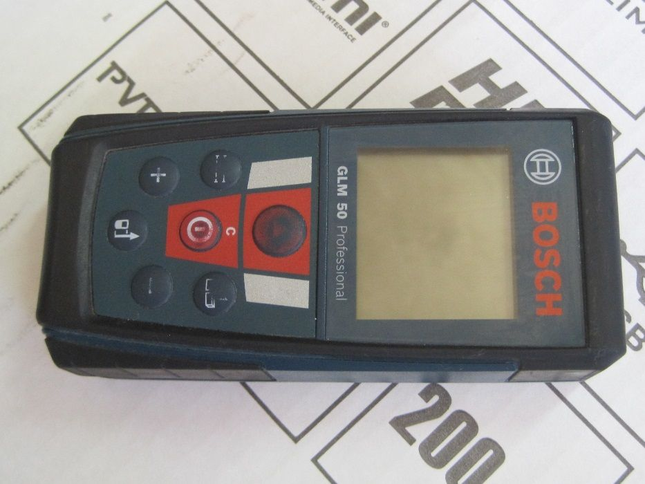 Дигитална лазерна ролетка Bosch GLM 50 Profesional