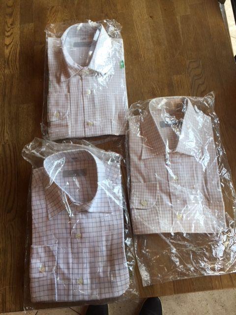 Мъжки ризи размери S , M , L