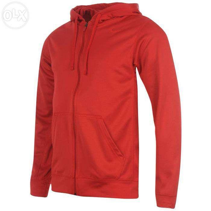 Nike hanorac pentru barbati bluza trening marimea xl rosu Therma-Fit
