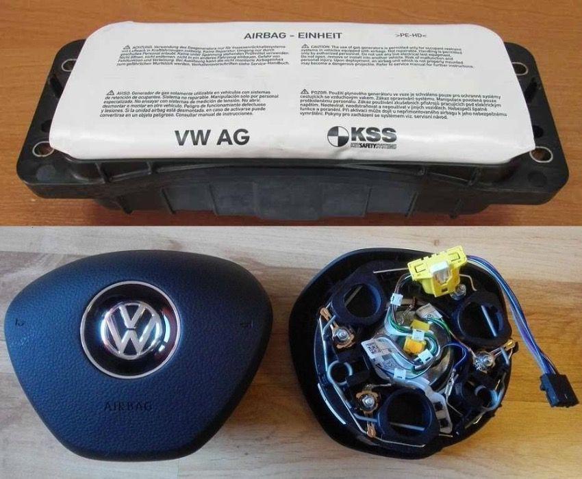 KIT Airbag Vw Caddy Tiguan Touran Noul Model