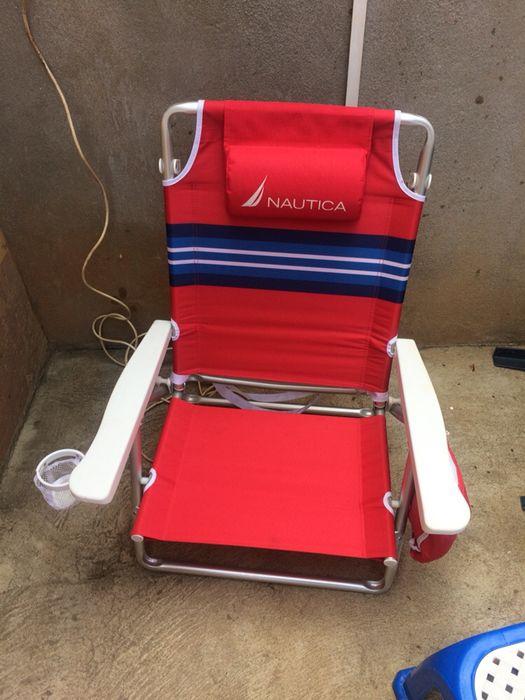 Venda de cadeiras da praia