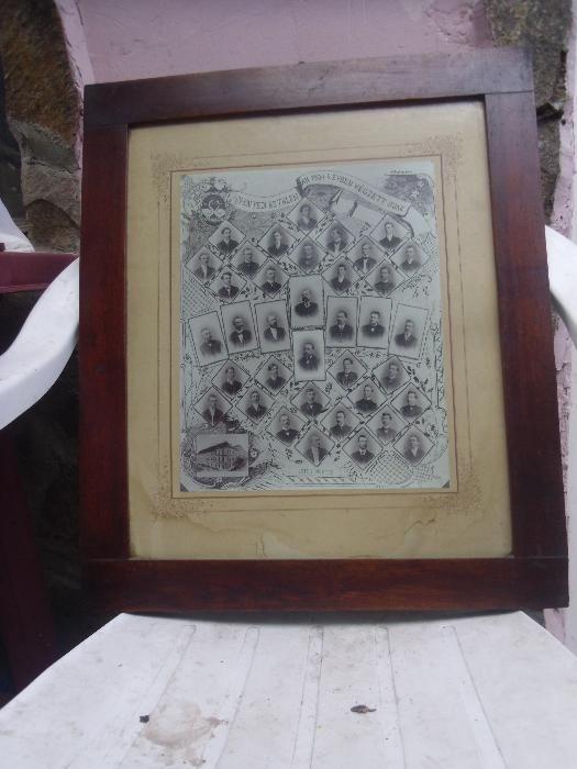 tablou 1904 a absolventilor liceului BETHLEN G.