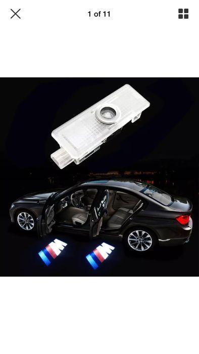 BMW LED лого за врати без пробиване!