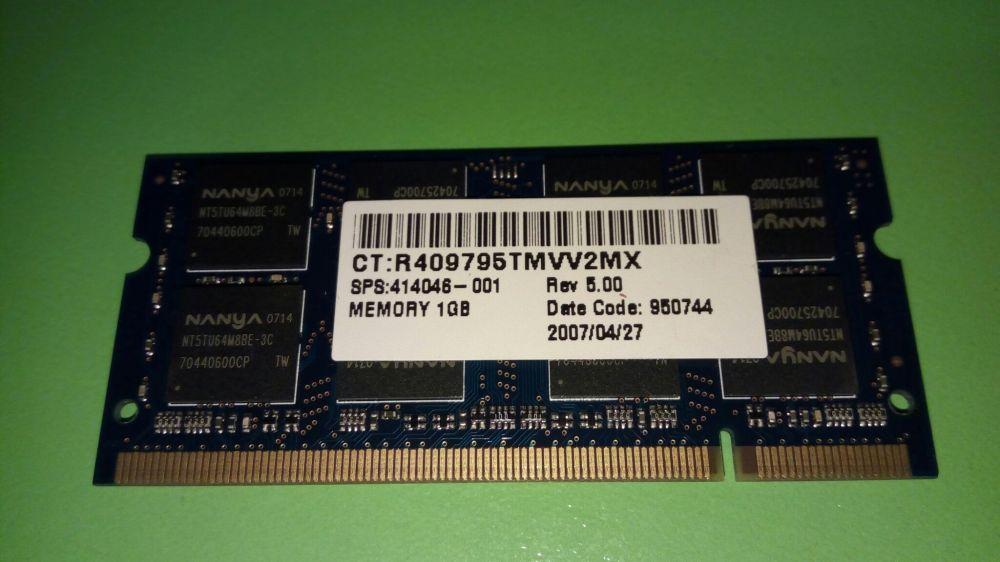 Memorie RAM laptop DDR II