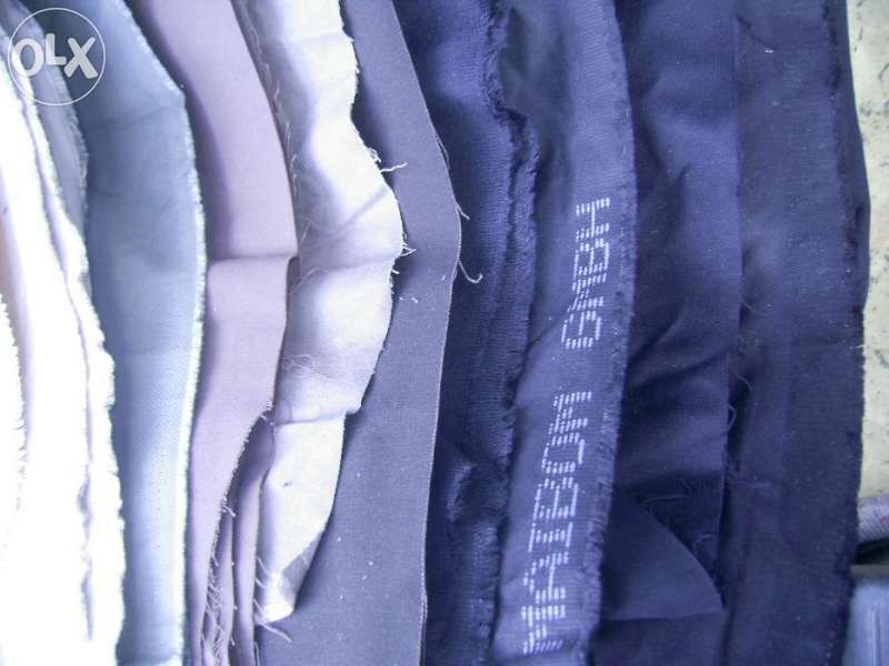 Разпродажба на качествени платове и шивашки материали - евтино