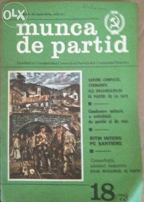 Colectie reviste Munca de Partid