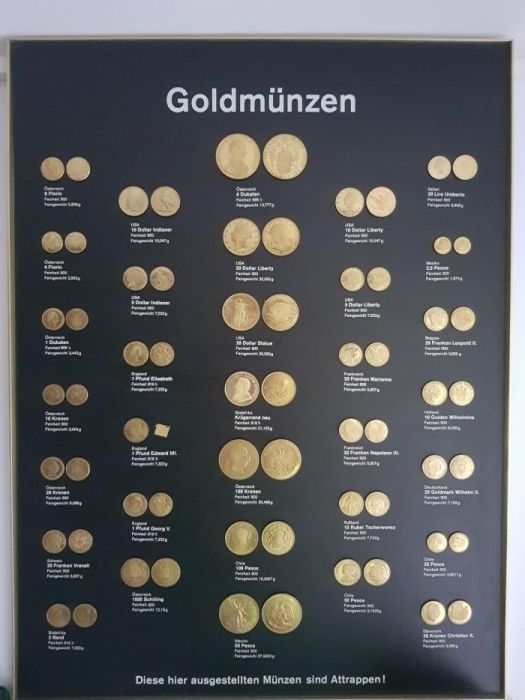 Mostre monede aur