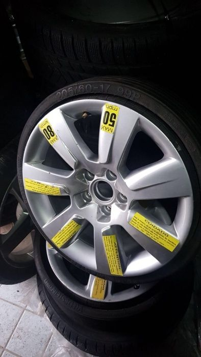 • REZERVA Roata Slim Audi A6 2005-2011 Noua