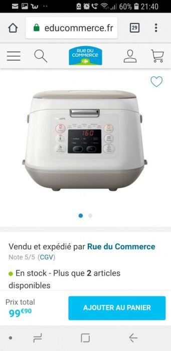 Vand robot multifuncțional suport gătit Philips