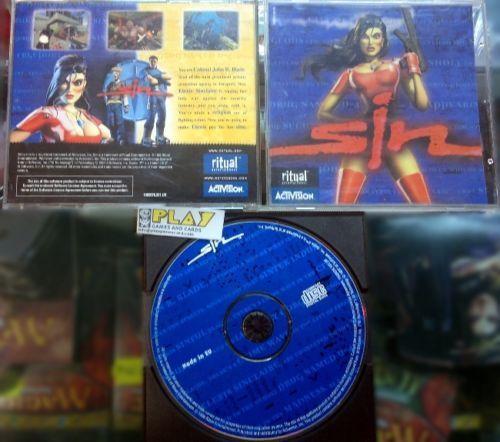 Joc SiN - PC 1998 Ritual Entertainment , Joc foarte rar colectie