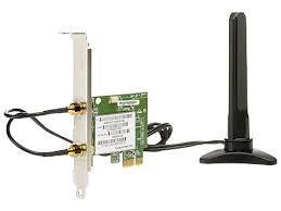Placa PCIe WIFI 802.11 b / g / n
