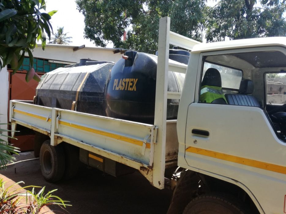 Água Potável Disponível transporte público