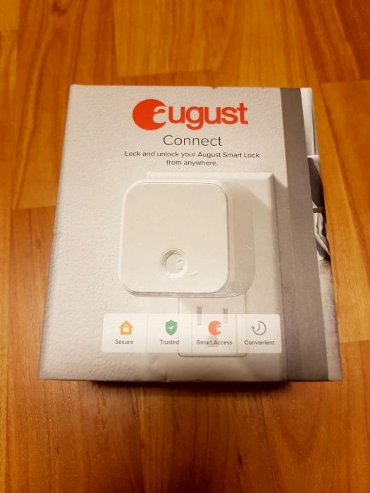 August Connect -modul acces din internet pe Yala smart August Doorlock
