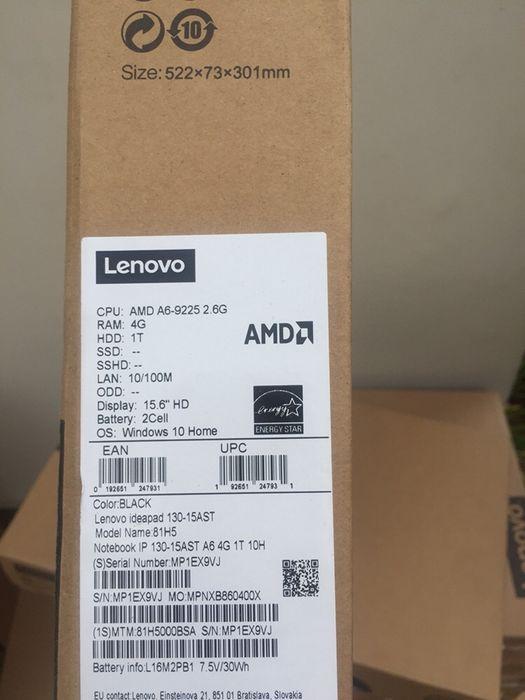 Lenovo AMD 8a geração 4gb e 1terra de disco