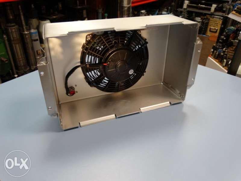 вентилатор SPAL с носещ алуминиев корпус