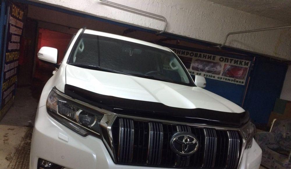 Мухобойка на Toyota Land Cruiser Prado 2017+