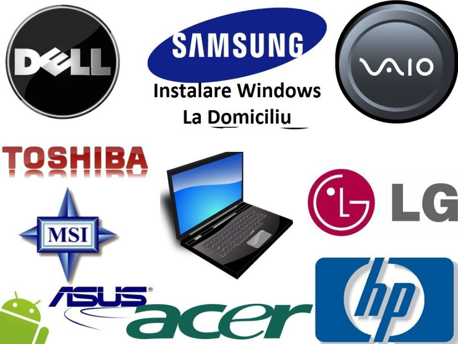 Instalare / Reinstalare Windows / Reparatii la domiciliu