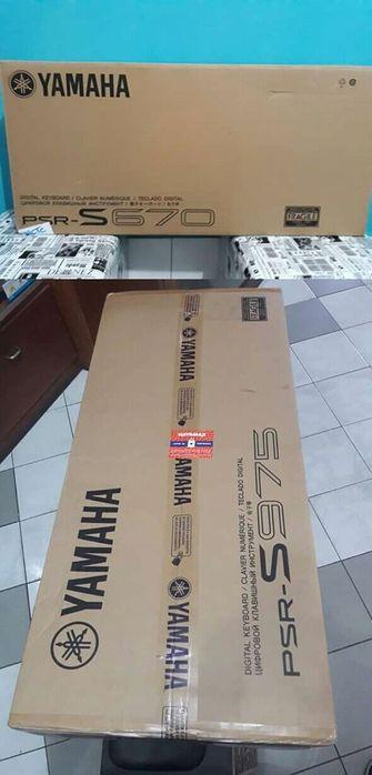 Piano Yamaha PSR 670 e 975