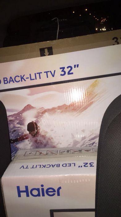 Tv's Haier 32 polegadas seladas