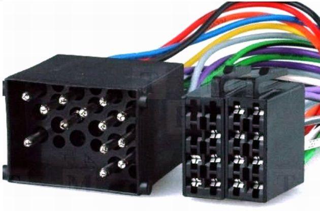 Conector adaptor de la ISO pentru BMW Land Rover si Rover