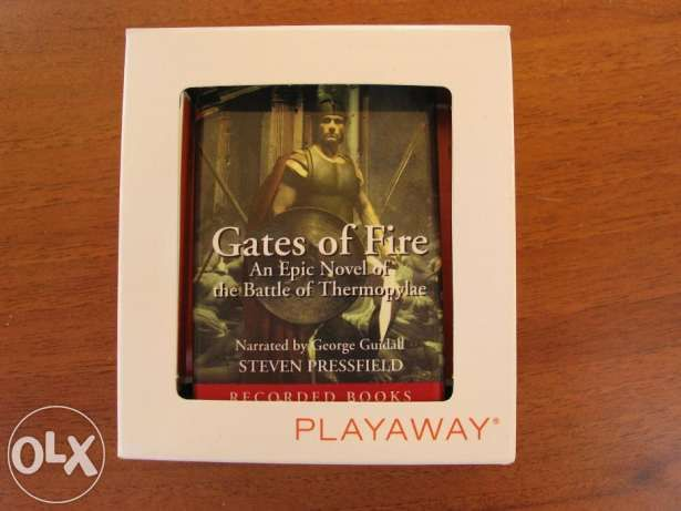 Steven Pressfield Gates of Fire An Epic Novel of the Battle of Thermop