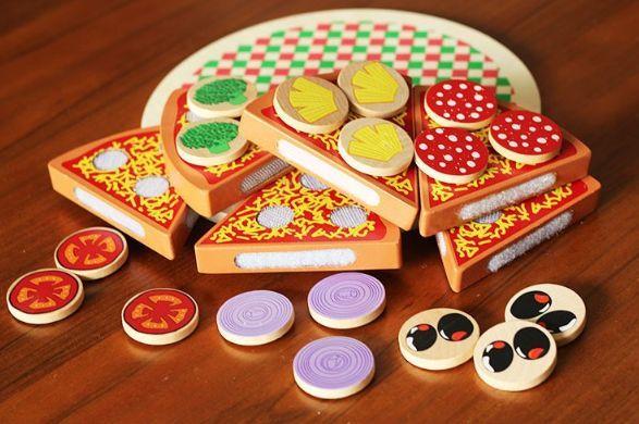 Wood Pizza с лепки за деца всички дървени играчки на хубави цени гр. Бургас - image 2