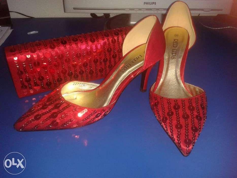 Pantofi cu poseta set