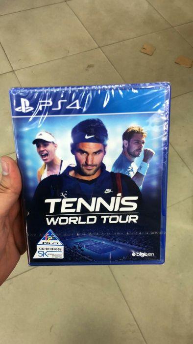 Ps4 Tennis/world tour jogo