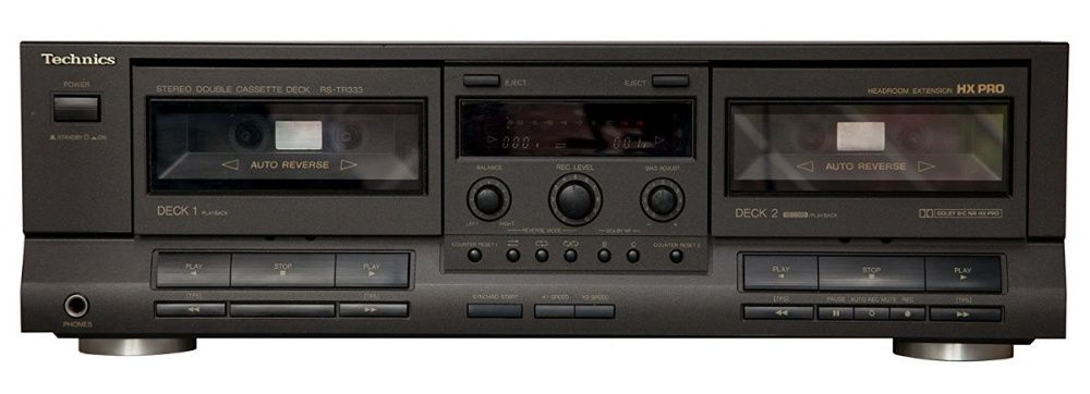 Stereo Double Cassette Deck Technics RS-TR333 si RS-T232