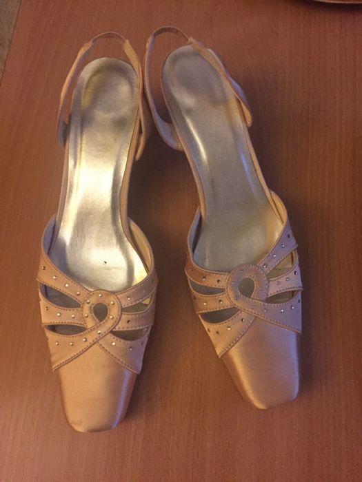Pantofi satinati eleganți nr.40